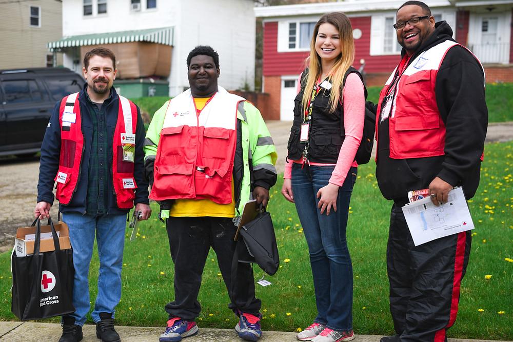 Red Cross sound the alarm volunteers