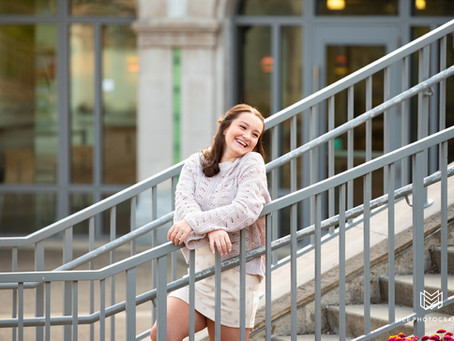 Emily's Senior Pictures at Phipps Conservatory