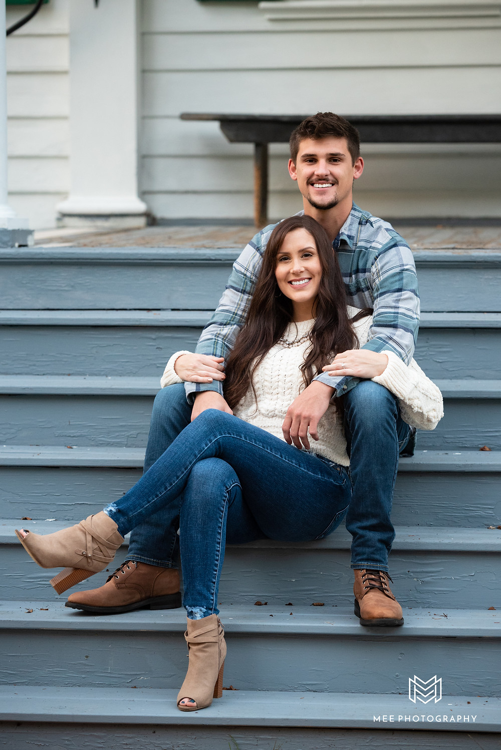 Country engagement session in Bethany, WV