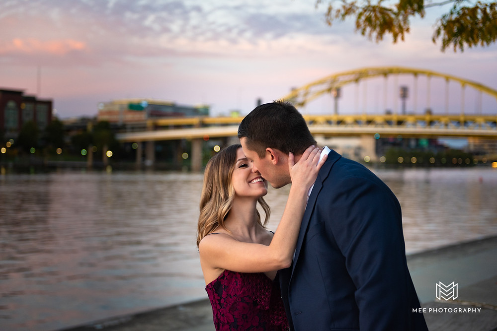 Top Pittsburgh wedding and engagement photographer