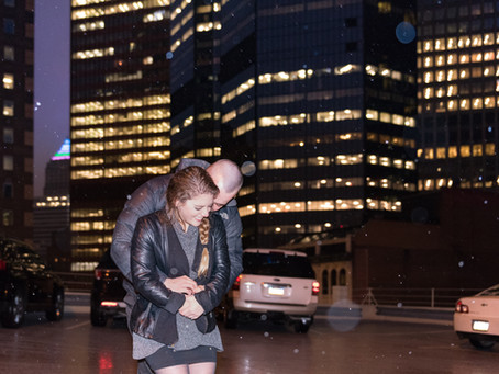 Christmas Engagement in Pittsburgh: Ryan & Courtney