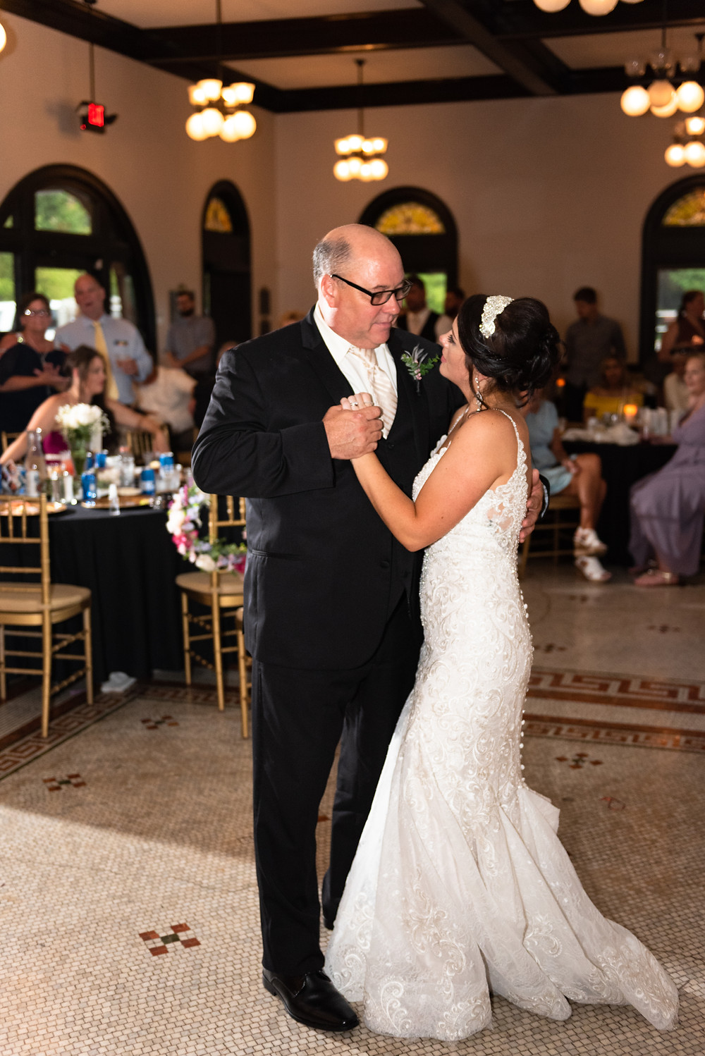 Daddy daughter dance at the Beaver Station Cultural and Event center