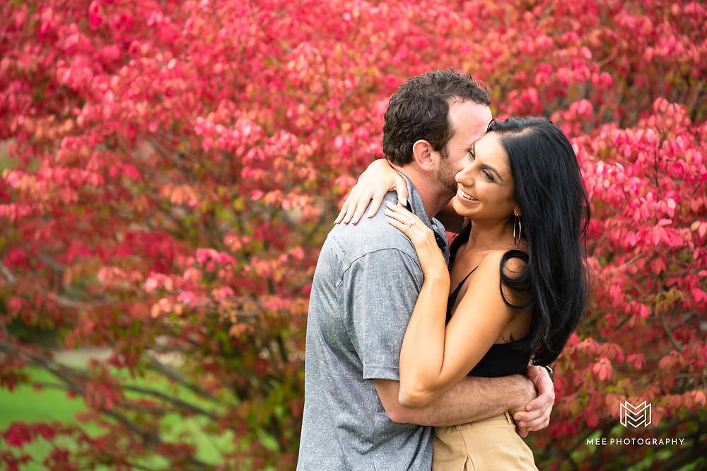 Fall proposal in Columbiana, OH