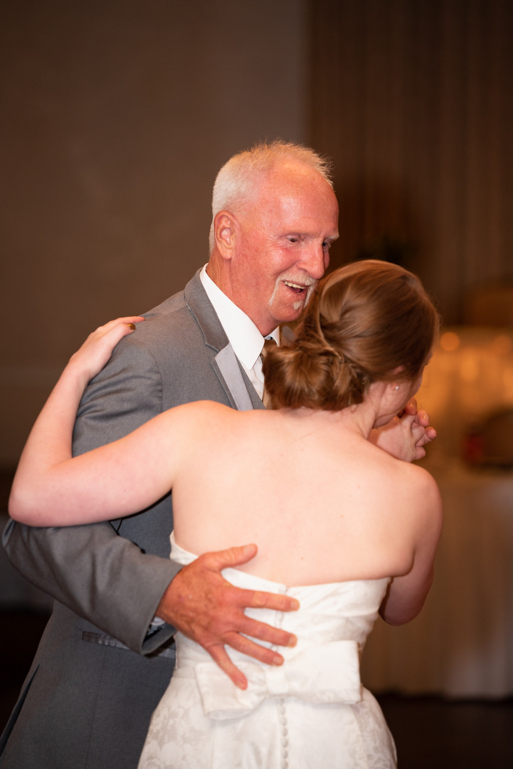 Father daughter dance at The Fairview Sunset Room