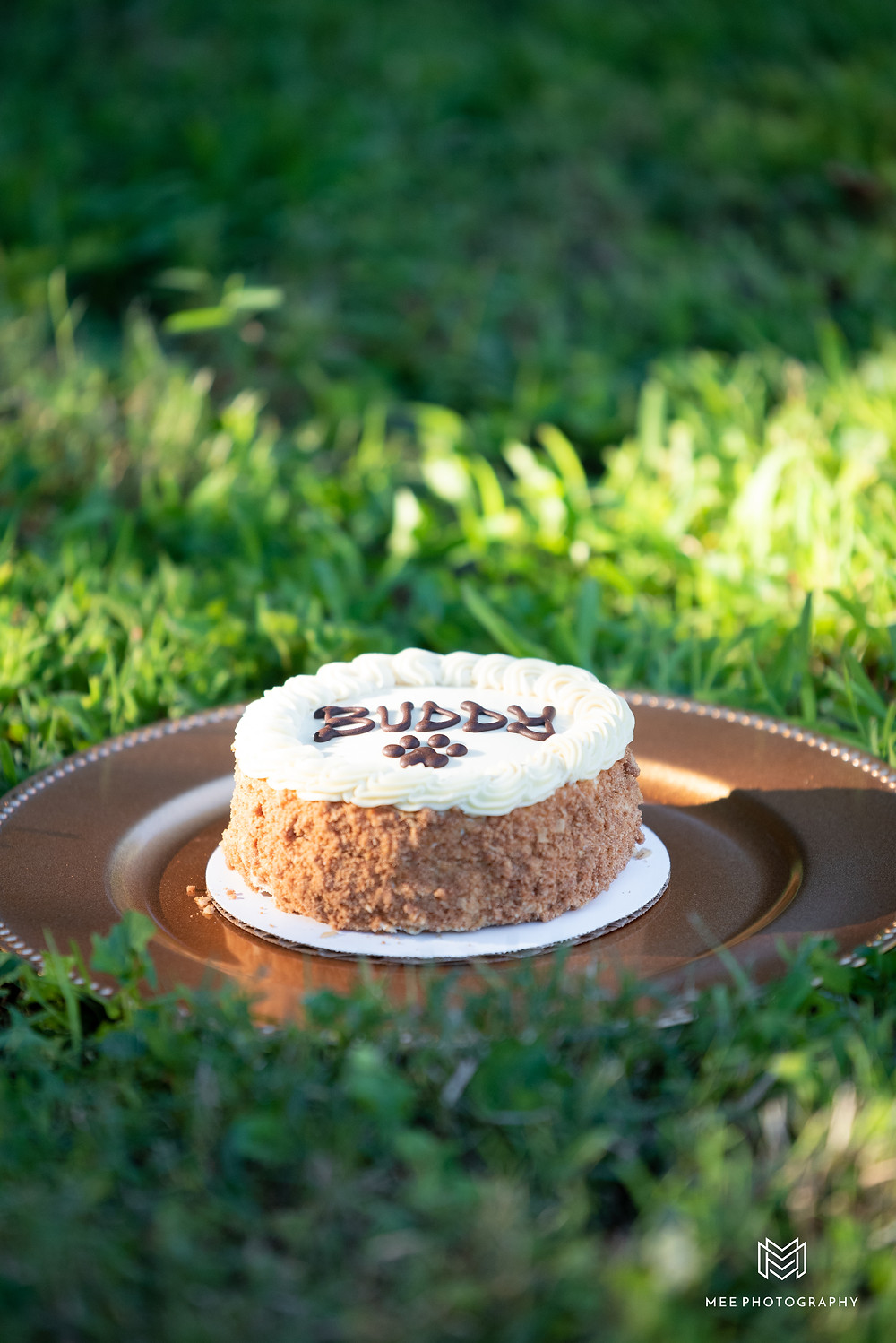 Doggy carrot cake from Three Dog Bakery in Sewickley, Pennsylvania