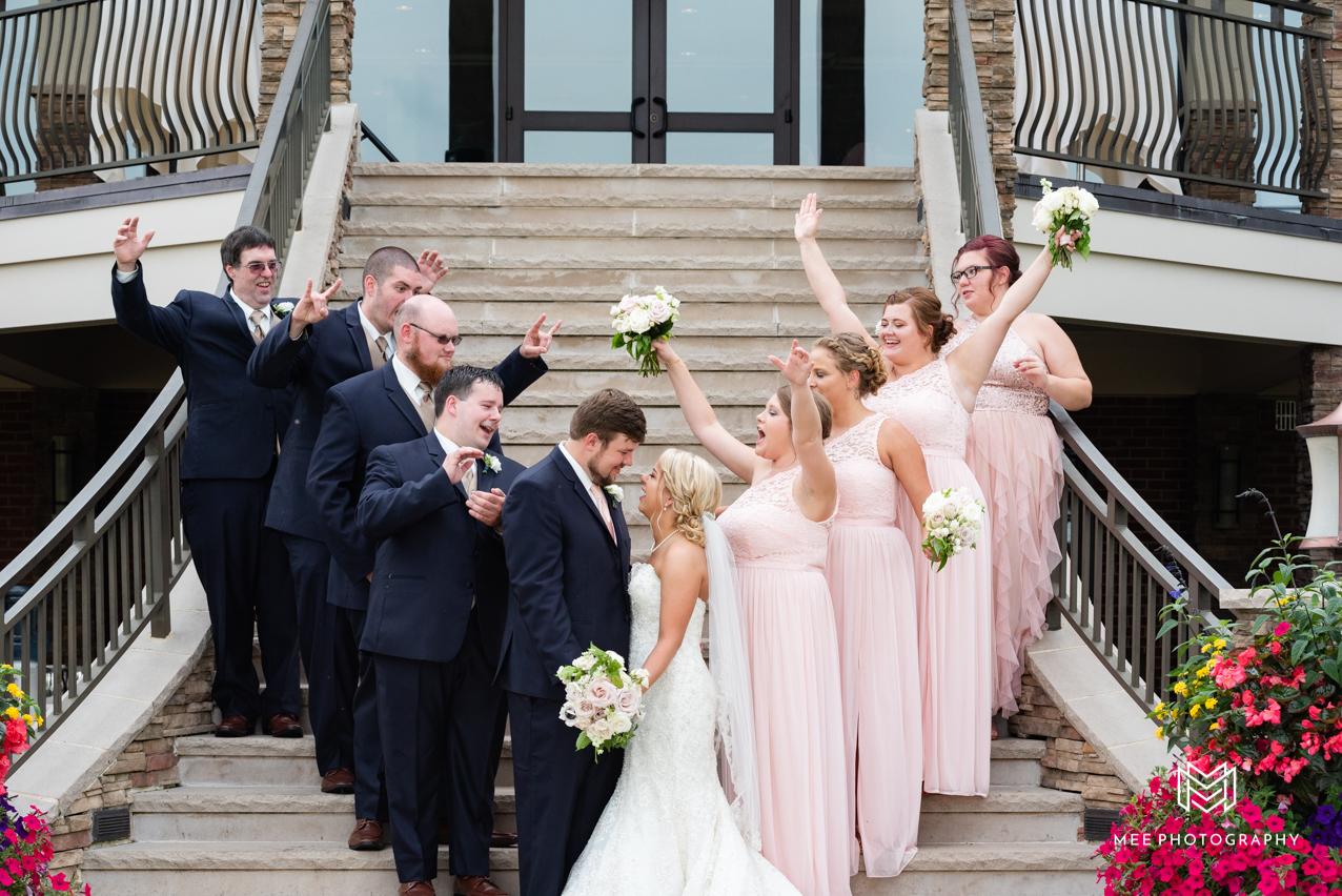 ab3c467e3ee The Lake Club of Ohio Wedding   Rachel   John
