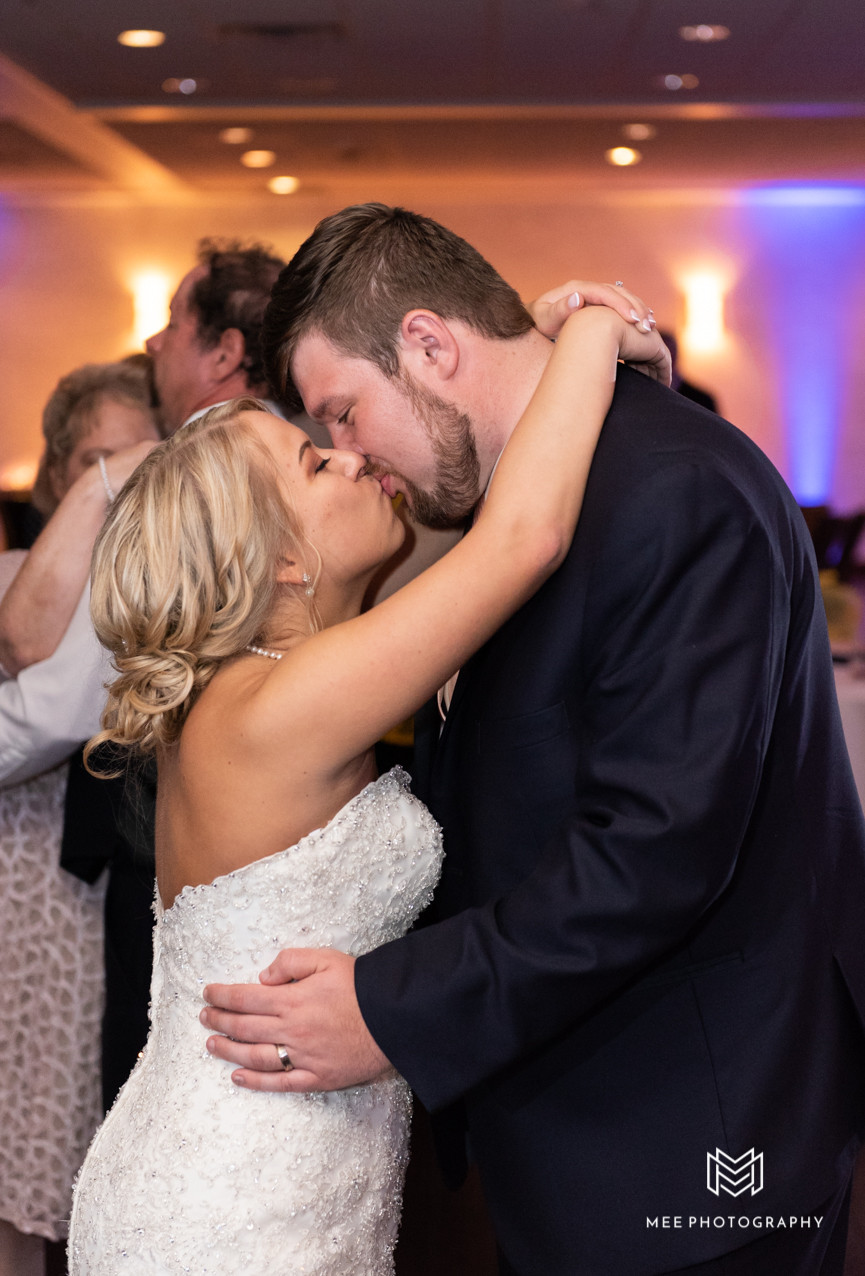 Last dance of the wedding night