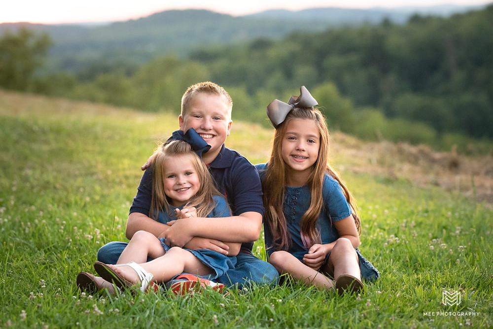 Tomlinson Run State park family photographer near Pittsburgh, PA