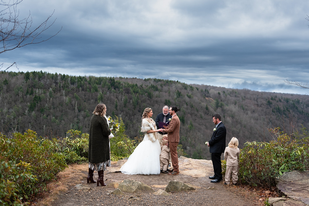 Mountain elopement at Blackwater Falls State Park