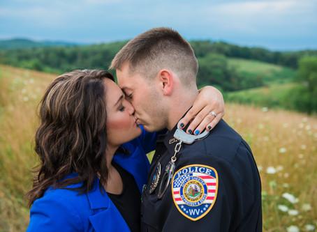 Tomlinson Run State Park Engagement: Stefanie & Ethan