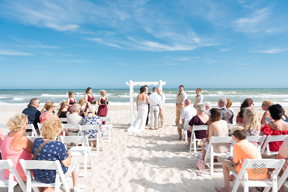 North Topsail beach wedding