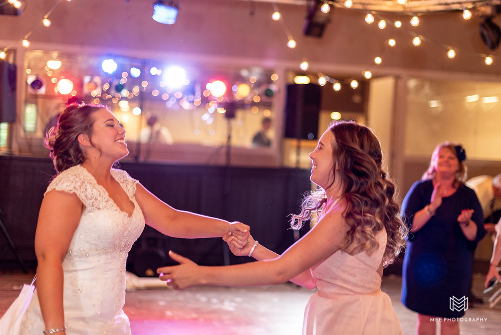 Bridesmaid requested a special song to dance to with the bride