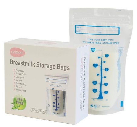 Milk Storage Bags, Standard, 30 Pack