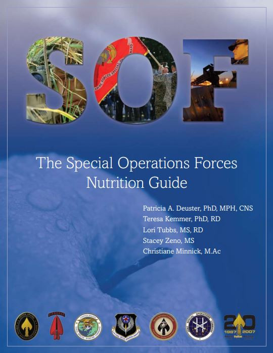 Special Operations Forces Nutrition Guide