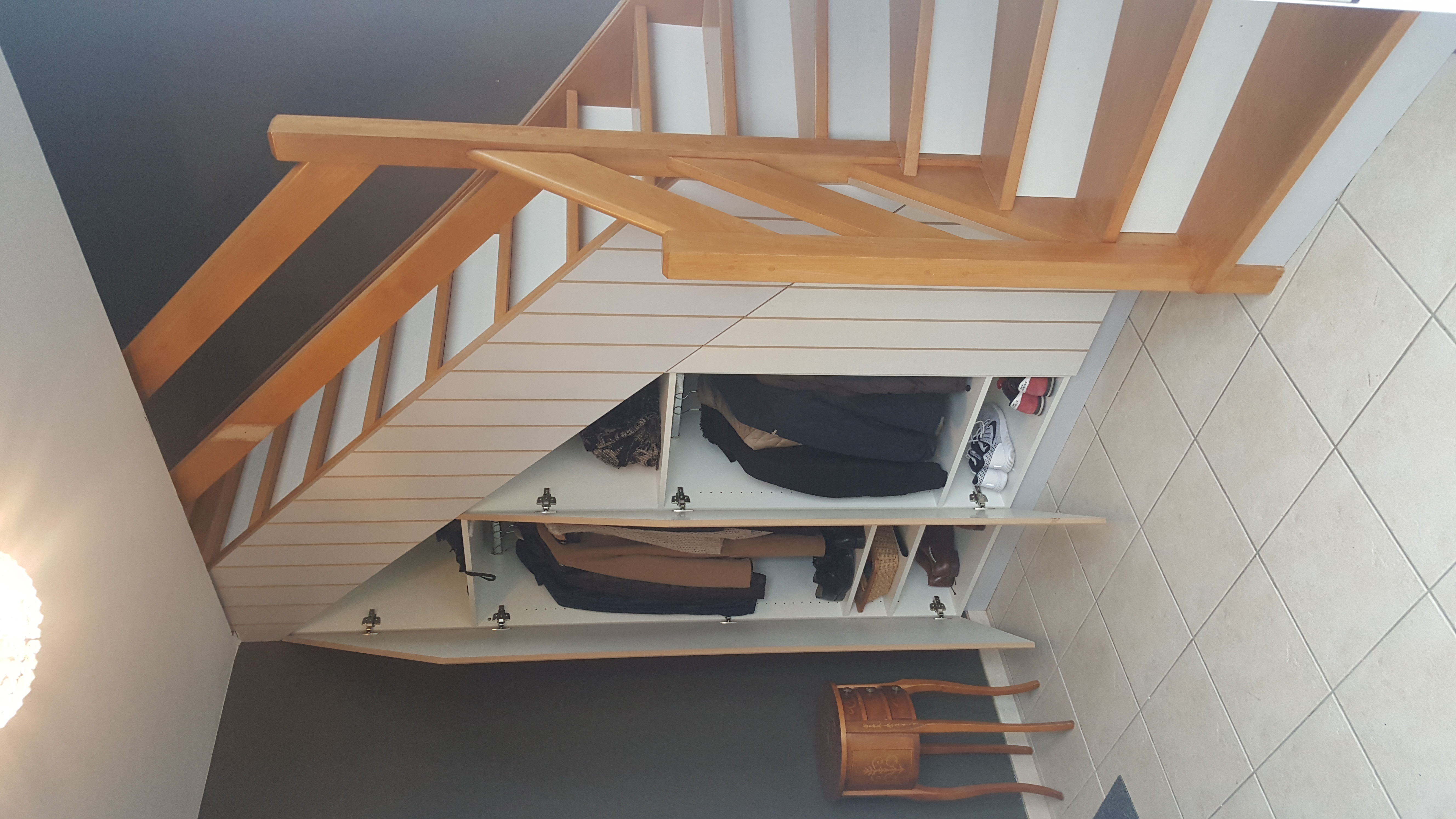 Placard Escalier Classique