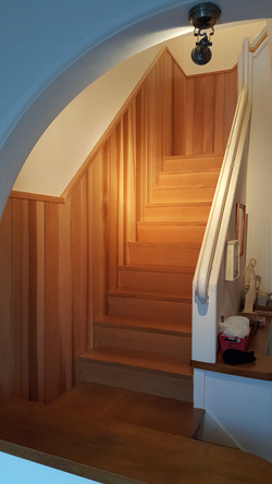 Lambris Escalier