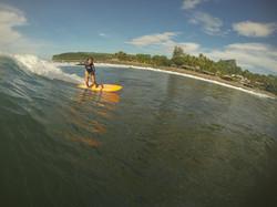 Surfing at K59 | Surf El Salvador