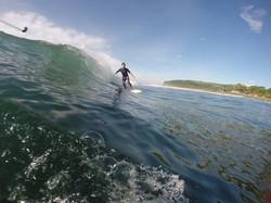 Surfing at Mizata | Surf El Salvador