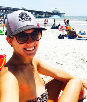 Sunshine and Hats / Folly Beach, SC