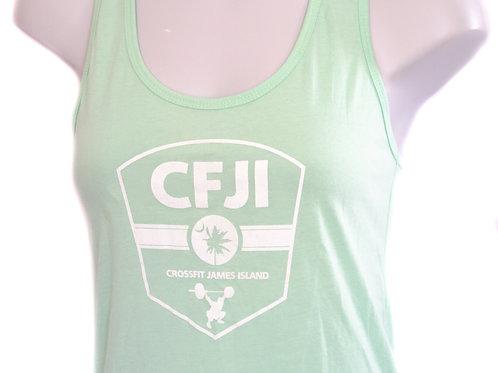 Women's Lime CFJI Tank