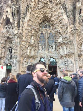 Barcelon, Spain / Segrada Familia