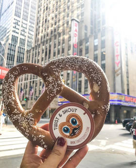 Pretzel Square / NYC