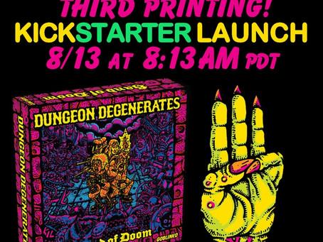 Dungeon Degenerates 3rd printing