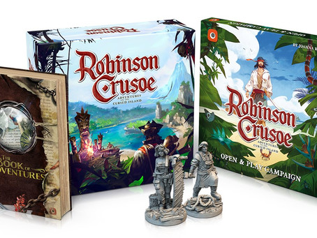 Robinson Crusoe Collector's Edition is live