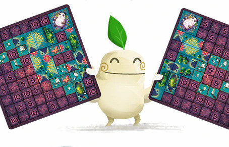 Kodama Forest is live (Polyomino Forest)