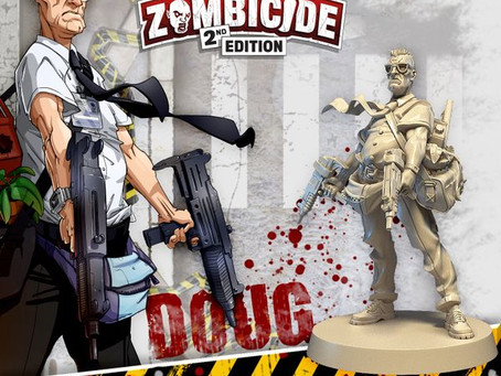 Night of the plastic dead (Zombicide 2nd Edition is live)