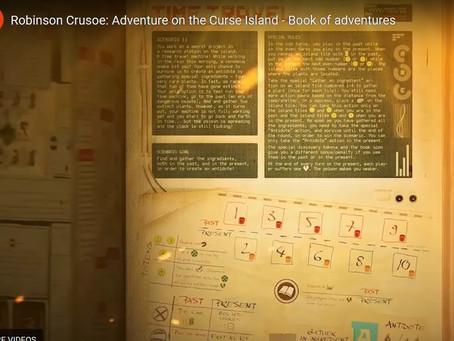 All the scenarios for Robinson Crusoe