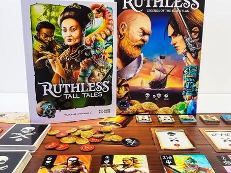 Ruthless: Tall Tales pre-order is live (More Ruthless than Madame Ching)