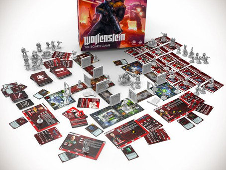 Wolfenstein: The Board Game is live (Mecha Hitler)