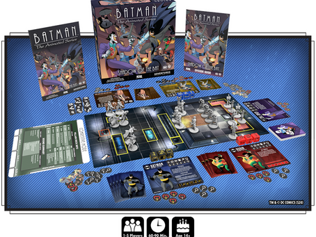 Batman: The Animated Series Adventures is live (Shadow of the Bat)