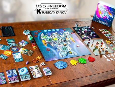 USS Freedom is live (Roam free into space)