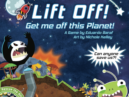 Lift Off! Get me off this Planet! is live (No alien left behind)