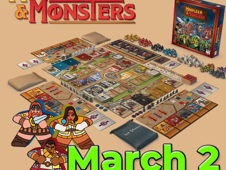 Meeples and Monsters is live (Meeple defenders)