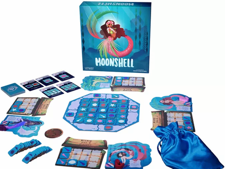 Moonshell collecting