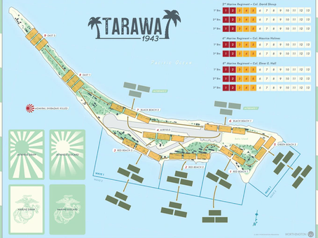 Tarawa 1943 is live (Death toll on the atoll)