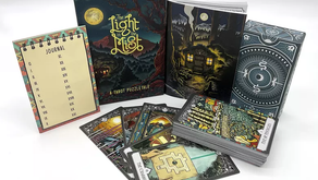 Seek out the Light in a Misty deck