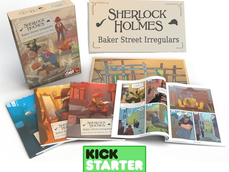 Two Sherlock Holmes Graphic Novel Adventures are live