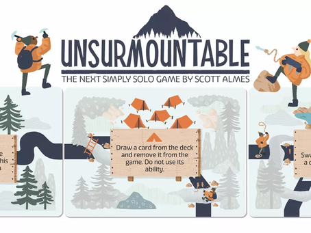 Unsurmountable is live (Puzzle your way to the peak)
