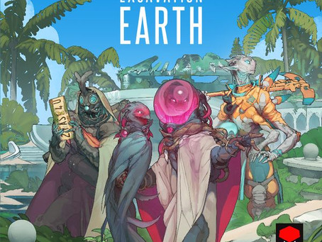 Excavation Earth is live (Alien gold diggers)