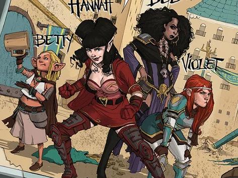 Comics post: Rat Queens