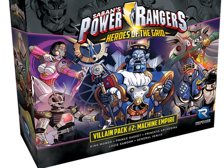 Two Power Rangers expansions are live (Psycho Rangers and Machine Villains)