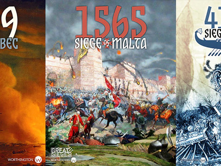 The Great Sieges game bundle is live ( Three Great Sieges)