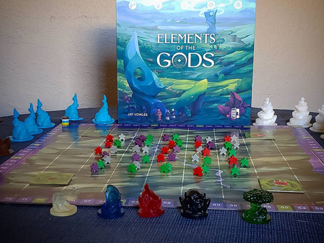 Elements of the Gods is live (Elemental powers)