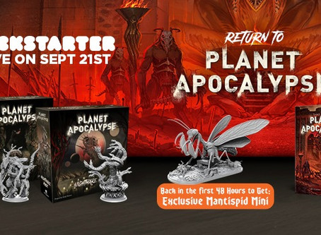 Planet Apocalypse is live (Hell is a place on earth)