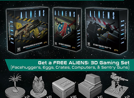 Glorious day for Aliens pre-order