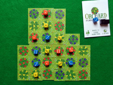 Orchard: a 9-card solitaire game